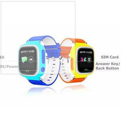 Wholesale GPS smart watch baby watch Q90 with Wifi touch screen SOS Call Location DeviceTracker for Kid Safe Anti Lost Monitor