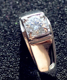 Sparkly Zirconia Ring For Men Boy Cool Boy Gift Party Wedding Korean Style Christmas Good Quality