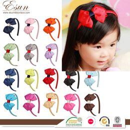 Wholesale 2016 Cheap hot sale best Jewelry manufacturers processing bespoke headband children headband Bow Headband handmade jewelry