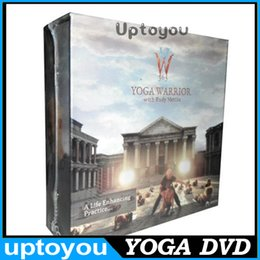 Wholesale Yoga Warrior with Rudy Mettia DVD Fitness Yoga Workout Weight Loss Program Finess DVDs Workout DVD Excercise Finess Videos best seller