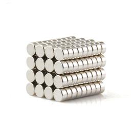 Aimant néodyme forte en Ligne-200pcs Neodymium Disque Dia 4x2mm Rare Earth Permanent Forte N35 Aimants pour Artisanat / DIY
