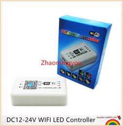 2016 1PCS Free shipping DC12-24V WIFI 3*4A LED Controller for RGB LED Strip Smart RGB Controller