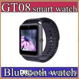 Wholesale 30X superior GT08 A1 U8Bluetooth Smartwatch Smart Watch for iPhone IOS Samsung Galaxy Android Smartphone Pedometer Sleep Monitoring NFC C BS