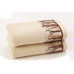 Wholesale 70 cm Bathroom Beach Thickness Bath Towel Size Cotton Plaid Towel High Quality Home Textile Adult Baby Product