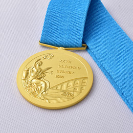 Wholesale 2000 Sydney Olympic Games Gold Medal High Quality Gold Medals With Strap And Box For Collection DHL