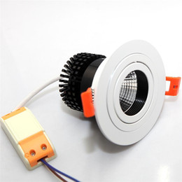 COB Downlight Dimmable 12W LED COB Ceiling Down light Dimmable AC110V-240V Dimming LED Recessed Downlight Spot LED panel Lamp