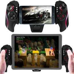 Joystick sin hilos telescópico del juego de los reguladores del juego de BTC-938 Gamepad para la caja de la TV de la PC de la tableta Smartphones Soporte de calidad superior 5-10 pulgadas Dispositivos desde pc joystick fabricantes
