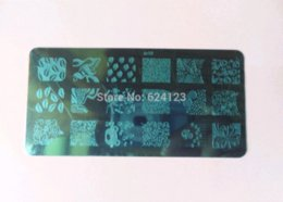 Stamping Plates Nail Art TO17-32 + 1 soft and sticky white Stamper Set Nail Art Templates