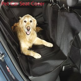 Wholesale Dog Car Seat Cover Pet Carriers Truck Hammock Carpet Mat Mascotas For Pets Waterproof Bench Protector Cover