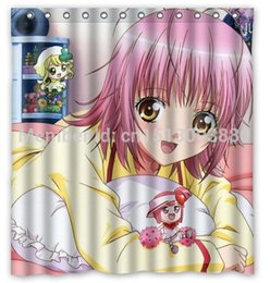 Wholesale Shugo Chara Egg th Hot Selling Custom Polyester Shower Curtain Waterproof Print Size x180cm With Hooks