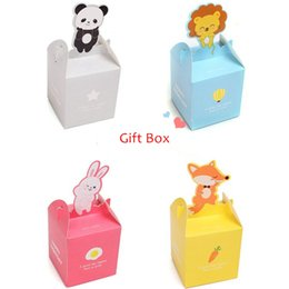 Wholesale Cute Cartoon small animal shapes gift candy Apple Small Toy Box Children s birthday gift packaging cm cm cm