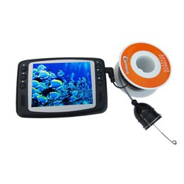 Wholesale Waterproof Underwater quot LCD Monitor Video Aluminium Fish Finder TV Line Camera m Cable length Inspection EU plug