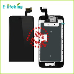 Wholesale Excellent Quality For iphone S SPlus Lcd Digitizer Displaiy Screen Assembly with bBlack white with home button camera price