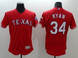 Wholesale Nolan Ryan Adrian Beltre Texas Rangers Flexbase Baseball Jersey Red Cheap