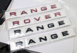 Autocollant en métal de Bonnet pour le LAND ROVER RANGE ROVER Evoque Accessoires d'insigne de Freelander à partir de autocollants machines d'impression fabricateur