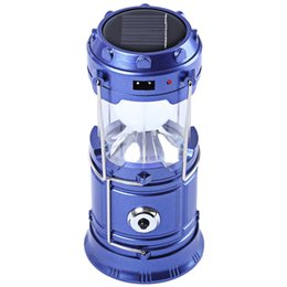 New solar energy Led camping lamp can be stretched outdoor Camping Light Emergency Camp Lamp Torch Flashlight Cycling Tool