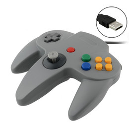 Pc shock del sistema en Línea-50 PC liberan la palanca de mando del regulador del juego del envío para el sistema N64 de Nintendo 64