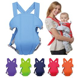Wholesale 2016 Hot Newborn Infant Baby Carrier Breathable Ergonomic Adjustable Wrap Sling Backpack Colors