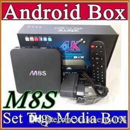 Wholesale M8S K Rooted KODI H Smart Android TV Box Amlogic S812 Quad Core GB RAM GB ROM IPTV Stream Sports Programed Fully Loaded B TH
