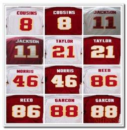 Wholesale Men s Washington Redskins Josh Norman Alfred Morris Kirk Cousins Jordan Reed Sean Taylor elite jerseys White and Red