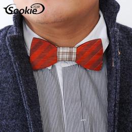 Bracelets en bois faits à la main Bowknot traditionnel Vintage 6 styles Pour Gentleman élégants en bois Bowtie Men Mode Accessoire à partir de bracelets en bois faits à la main fabricateur