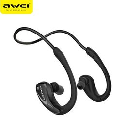Awei A880BL Wireless Bluetooth Sports Stereo Ear Hook Earphones Noise Cancelling for Mobile Phone Portable Media Player Sport DHL fast