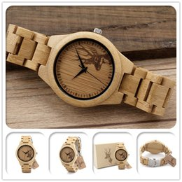 New arrival japan miyota movement wristwatches Bands Womens Mens watches bamboo wooden watches for men and women christmas gifts