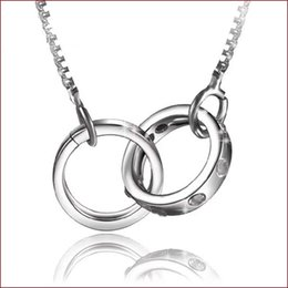 925 sterling silver items crystal jewelry pendant statement necklaces swarovski elements infinity wedding vintage circle couple