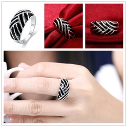 Wholesale Mix size pieces silver Paint oval ring GSSR674 Factory direct sale brand new fashion sterling silver finger ring