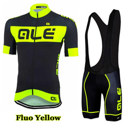 Wholesale 2016 Ale Fluo Cycling Jersey Men s Short Sleeve Bicycle Cycling Clothing Bike Wear Shirts Outdoor Maillot Ropa Ciclismo Mtb