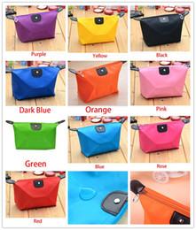 Candy Cute Makeup Bags Women's Fashion Travel Cosmetic Bag Pouch Clutch Handbag Casual Purses Dumpling type cosmetic gift purse