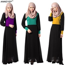 New Arab Women Abaya Long Sleeve Women Abaya Islamic Ethnic clothing New Designer Muslim Maxi Dress Hijab Clothing