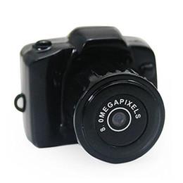 Micro cámara espía oculto en venta-Nueva completa 640 * 480 Y2000 la mini cámara más pequeña afilar micro DVR videocámara espía Mini DVR ocultada micro vídeo