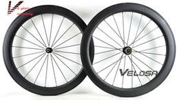 2-Year-warranty,Full carbon bike wheelset, 60mm clincher tubular ,700C road bike wheel,wider U shape rim