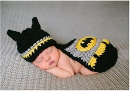 Wholesale According to the full moon one hundred days newborn photo photography service Thanksgiving outfit for baby Hand knit children photography