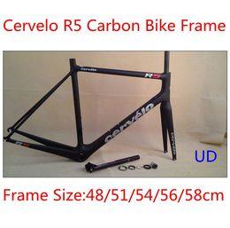 Wholesale Cervelo R5 Carbon Bike Frames UD weave bicycle frames size cm carbon frameset full carbon frameset bike parts