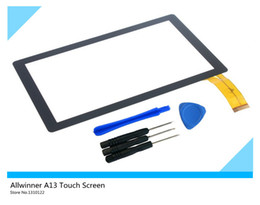 "Touch Screen Touch Panel Glass Screen Replacement Parts for Allwinner A13 7"" Tablet PC YDT1087A (+free DIY tools)"