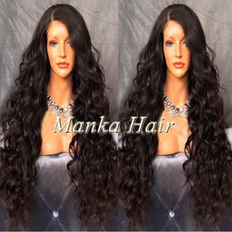 Front Lace Wigs 180% Full Lace Human Hair Wigs With Baby Hair Lace Frontal Wig Brazilian Loose Wave Lace Front Human Hair Wigs