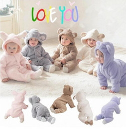 Wholesale Baby Boy Clothes Baby Clothing Color Choice Baby Outfits Cartoon Hooded Hot Sale Kids Clothes New E Packet