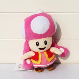 Toadette plush 7inches toadette plush super mario plush Super Mario bros toadette plush for kids toy