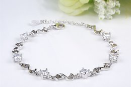 New Arrival Bracelets Chain Stunning Design Love Within Fashion Women Jewelry 925 Silver Plated Lovely JWDB022