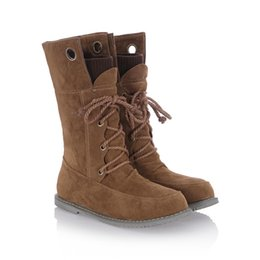 Wholesale Pure Manual Flat Martin Boots Bigger Sizes Winter Boots In The New England Wind Restoring Ancient Ways and Women s Boots