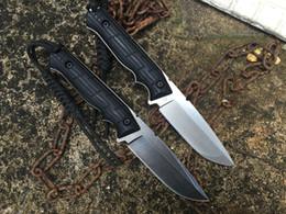 Wholesale fox Rattlesnake II FX knife Alfredo DORICCHI DC53 blade HRC G10 handle Hunting folding Knife Pocket Survival Knives
