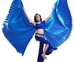 Wholesale 2016 High Quality Egyptian Opening Isis Belly Dance Wings Dance Accessories Wings Sale Without Stick Brand New