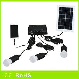 Wholesale 2016 solar energy kit solar light system for home lighting emergency with LED bulbs from factory directly