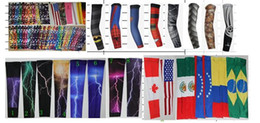 wholesale 2016 Baseball Stitches digital camo arm sleeves baseball Outdoor Sport Cycling Arm Sleeve free DHL