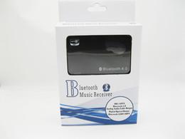 Wholesale Bluetooth Music Receiver Aptx Wireless Bluetooth4 audio adaptor Digital optical coaxial analog mm output