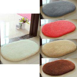 Wholesale Anti Skid Fluffy Absorbent Area Rug Bedroom Home Floor Shower Door Mat Color