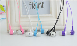 5colors Colorful candy in-ear headphones bass line Crystal MP3 4 MP5 songs to music on headphones