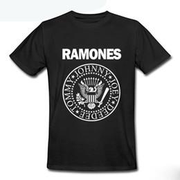 Shirt de douille d'impression des animaux gros à vendre-T-shirt manches courtes en coton imprimé à manches courtes RAMONES Homme T-shirt Rock Hip Hop Fitness Blusas Camisas Masculinas Tees